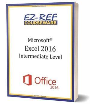 Microsoft Excel 2016 – Intermediate: Instructor Guide (Color)