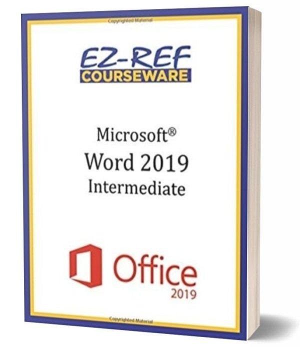Microsoft Word 2019 - Intermediate: Instructor Guide - Color